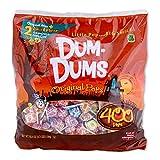 DUMDUMS Lollipops Halloween Pack, 400 Count Bag