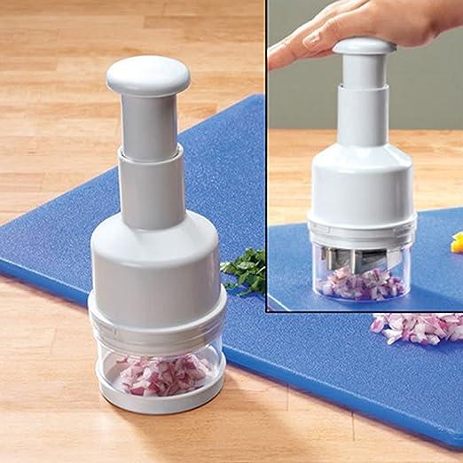 Manual de picadora Cebolla Verduras Cortador ajo Cortador de cebolla