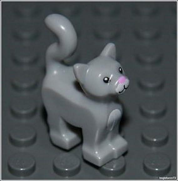 ☀️NEW Lego Friends Animal Pet Harry Potter 2 Light Gray RAT Mouse Dungeon Prison
