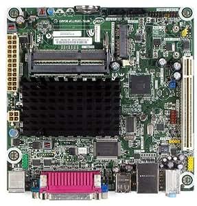 Intel Atom Dual-Core D525/Intel NM10/DDR3/A&V&GbE/Mini-ITX Motherboard BLKD525MW, Bulk