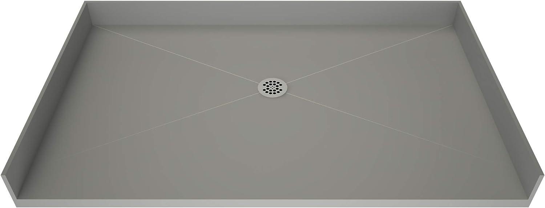 Tile Redi USA B3054C-BFRDPVZ Redi Free Shower Pan 54 W x 30 D Polished Chrome