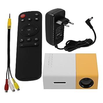 YG300 Proyector Profesional Mini HD1080P Proyector de Cine en casa ...