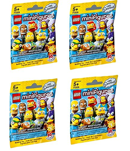 LEGO Minifigures The Simpsons Series 2 - Four Random Packs (71009)