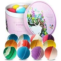 STNTUS Badbommen cadeauset (12 x 86 g), luxe badbruisballen voor vrouwen, vriendin, moeder, perfect Valentijnsdag…