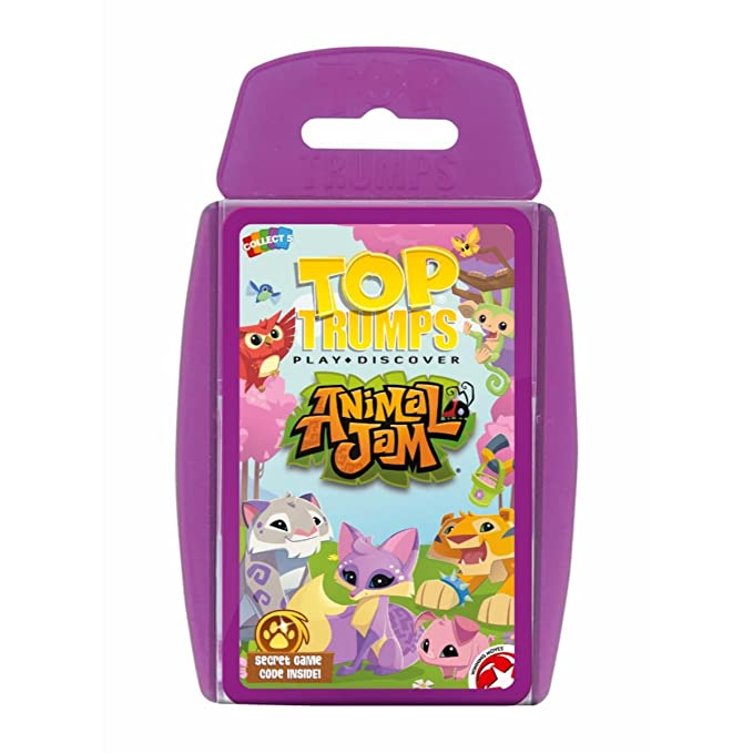 Amazon.com: Top Trumps Animal Jam Card Game: Toys & Games