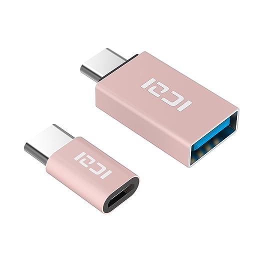 254 opinioni per ICZI Adattatore USB C a Micro USB Femmina + Adattatore USB C a USB 3.0 A Femmina