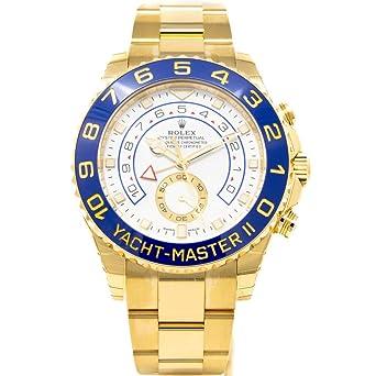 Men\u0027s 18K Gold Rolex Yachtmaster II Model  116688