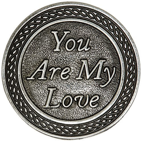 Cathedral Art You are My Love Pocket Token, 1-Inch