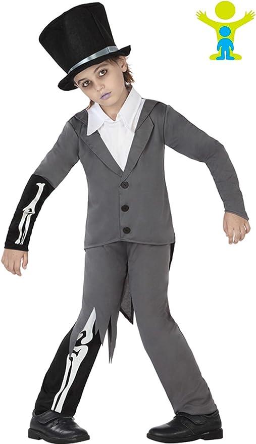 Atosa 26425 Disfraz novio zombie 5-6 años, talla niño: Amazon.es ...