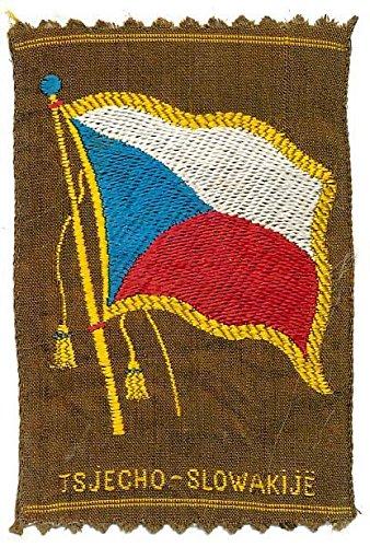 Czechoslovakia's National Flag ca. 1915 World in Miniature