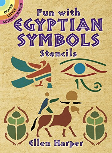 (Fun With Egyptian Symbols Stencils (Dover Stencils))