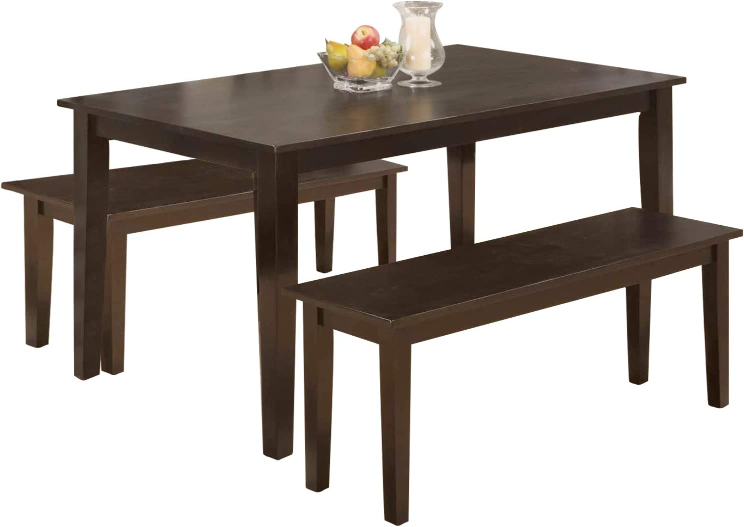 Dining Table Set Dining Table Kitchen Table and Bench for 3 Dining Room  Table Set for Small Spaces Table with Chairs Home Furniture Rectangular  Modern