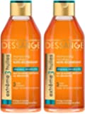 Dessange - Extrême 3 Huiles Shampooing Micellaire Nutri-Régénérant Pour Cheveux Dénaturés - 250 ml - Lot de 2