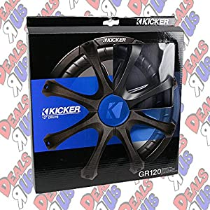 Kicker GR120 12-Inch Speaker Grille for Kicker Comp/CompVR/CompVT/CompVX/Solo Classic