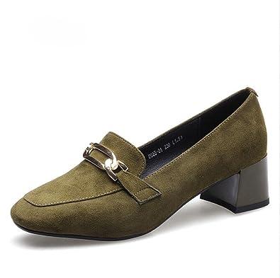 09eb257e01a1e0 XZGC Frühjahr Schuhe Platz mit Einem Rauhen Mode Frosted Schuhe ...