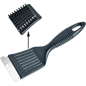Cadac BBQ Grill Brush Stainless Steel Bristles BBQ Grill Cleaning Brush