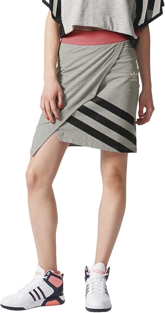 adidas Falda Couture Gris/Rosa/Negro Talla: 38 M (Medium): Amazon ...