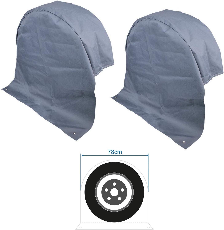 2 X Xl Radabdeckung Reifenabdeckung Radschutzhülle Wohnwagen Wohnmobil Anhänger Auto
