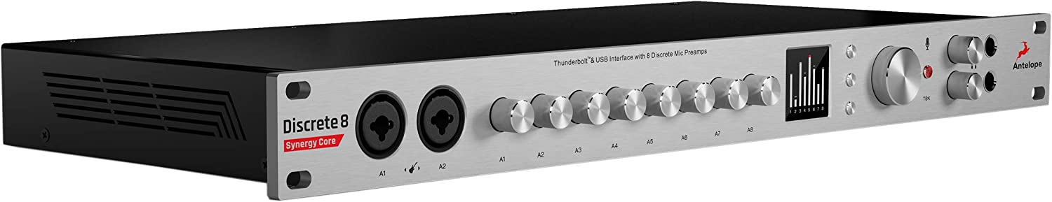 DSP FX Processing Antelope Audio Discrete 8 Synergy Core Thunderbolt and USB Audio Interface with FPGA