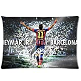 andersonfgytyh Neymar Jr Soccer Poster Soft Pillow case Cover 20*30 Inch (Twin sides)Zippered Pillowcase