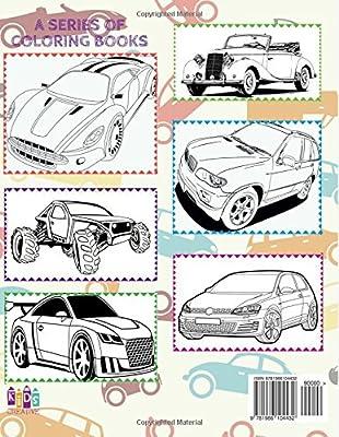 Automobili Auto Disegni Da Colorare Libro Da Colorare 5 Anni
