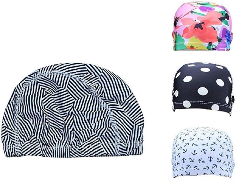 5 Stylish Colors to Choose from Swimtastic/® Lycra Swim Cap