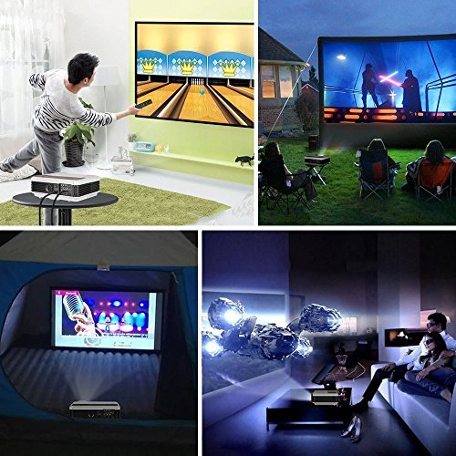 EUG Portable Android Wifi Projector 2600 Lumens