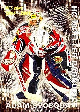 Amazon Com Ci Adam Svoboda Hockey Card 2004 05 Czech Ofs Save