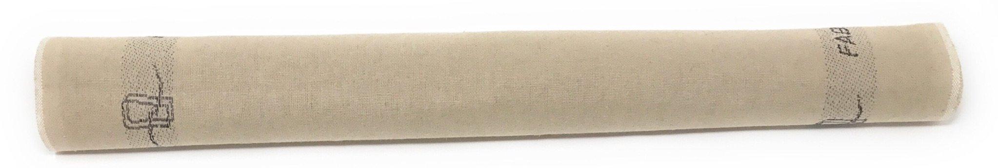 3-Piece Set: Emile Henry Ceramic Baguette Baker Charcoal, Mure & Peyrot Longuet Bread Scoring Lame, Matfer Baker's Couche Proofing Cloth Linen, 23.5 x 35.5 - Bundle by Mixed (Image #5)