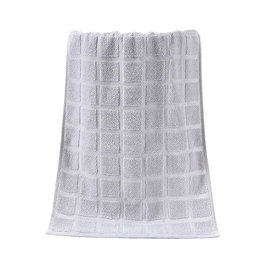 Naisidier Toallas de algodón Suave Pack de 2 cómodas Toallas de ...