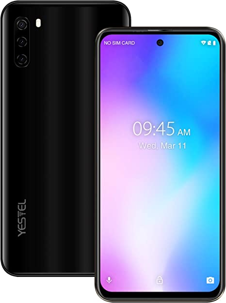 YESTEL Note30 Smartphone 4G Android 9.0 Pantalla Desbloqueada 6.41 ...