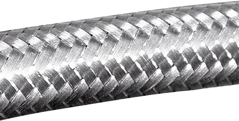 AutoSiliconeHoses 28mm 1 Metre Stainless Steel Overbraid 16mm