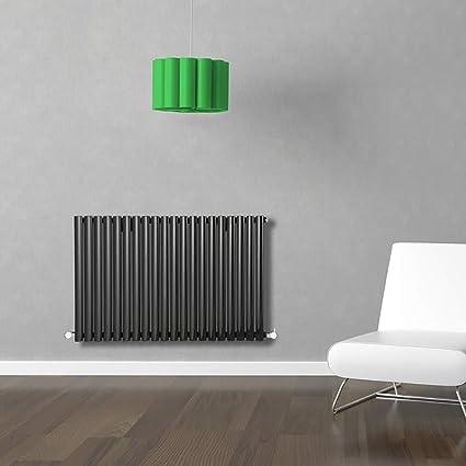 Milano - Paneles de radiadores de diseño curvas, columnas ovales verticales y lujo calefacción central