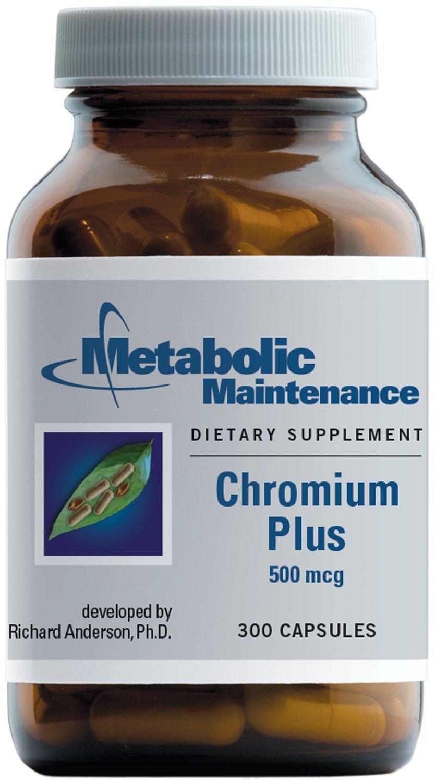 Metabolic Maintenance - Chromium Plus - 500 mcg, 300 Capsules