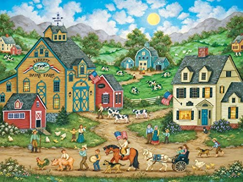 Heartland Welcome Back to School by Bonnie White; 500 Piece Puzzle