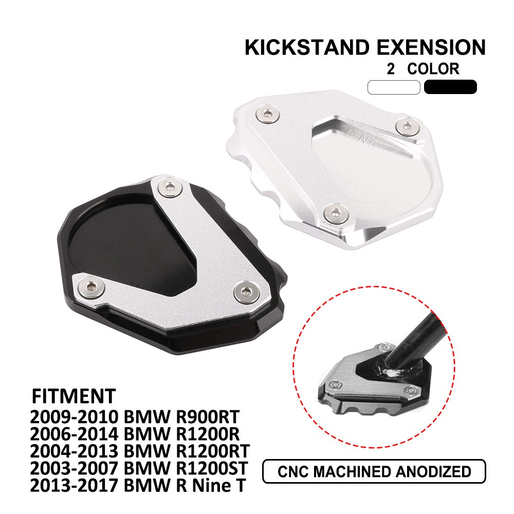 Fit For DUCATI Panigale V2 2020 kickstand sidestand stand extension enlarger pad