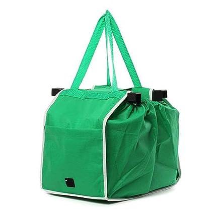 eb93ddc82 Bolsa de la compra plegable bolsa ecológica reutilizable bolsas de  supermercado gran capacidad