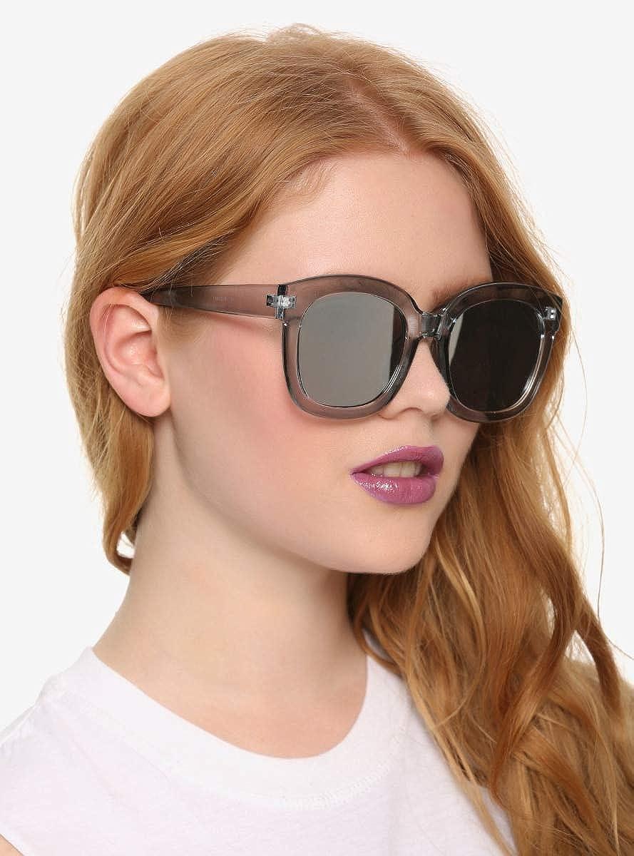 Authentic Laundry Aviator Sunglasses Rose Gold Rhinestones Gradient Lens LD265