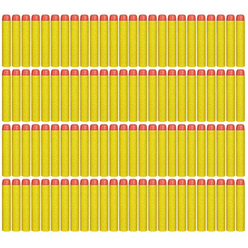 nerf gun bullets yellow - 3