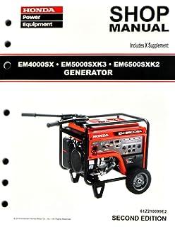 Honda em6500s generator honda em6500 generator manual honda.