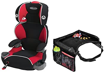 Graco AFFIX Youth Booster Seat With Latch System Snack Tray Atomic