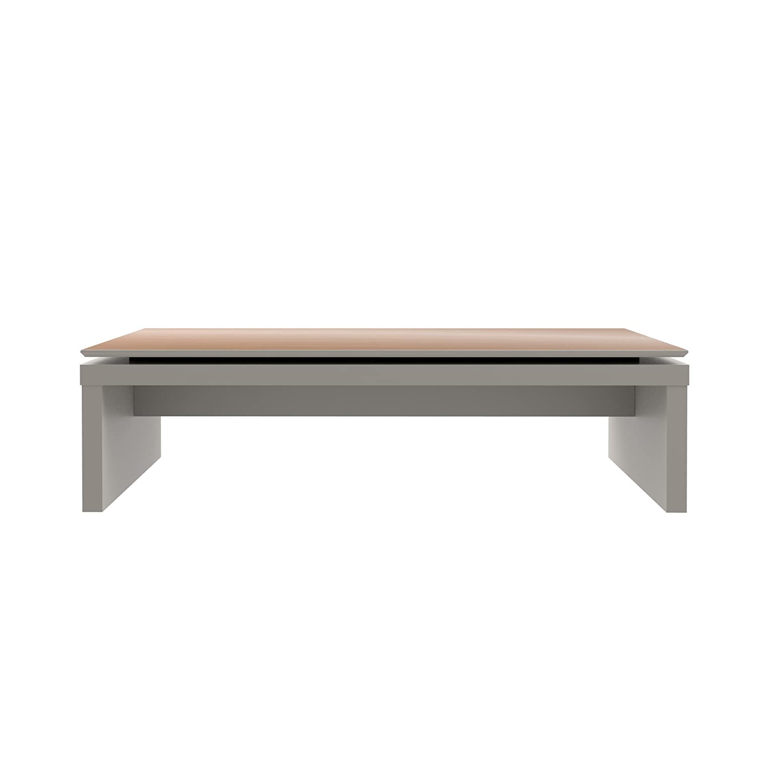 d1502e47db4c Amazon.com  Manhattan Comfort Lincoln Collection Contemporary Accent  Rectangle Living Room Coffee Table
