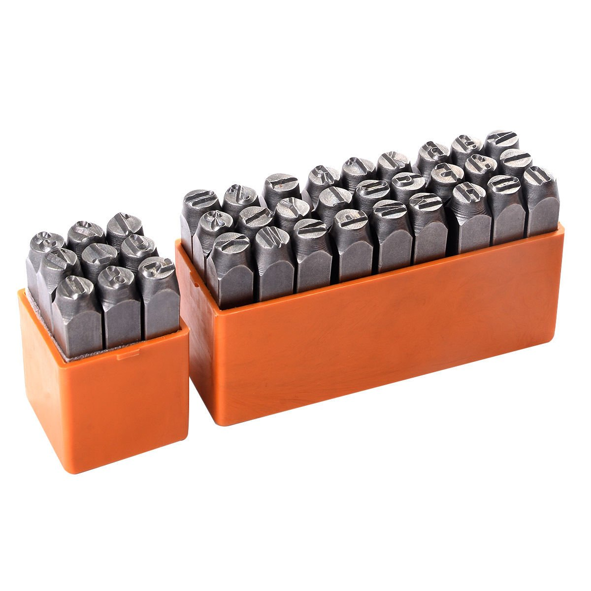 Goplus® 36 pcs 3/8'' 10mm Letter and Number Steel Metal Stamping Stamper Punch Tool Kit New