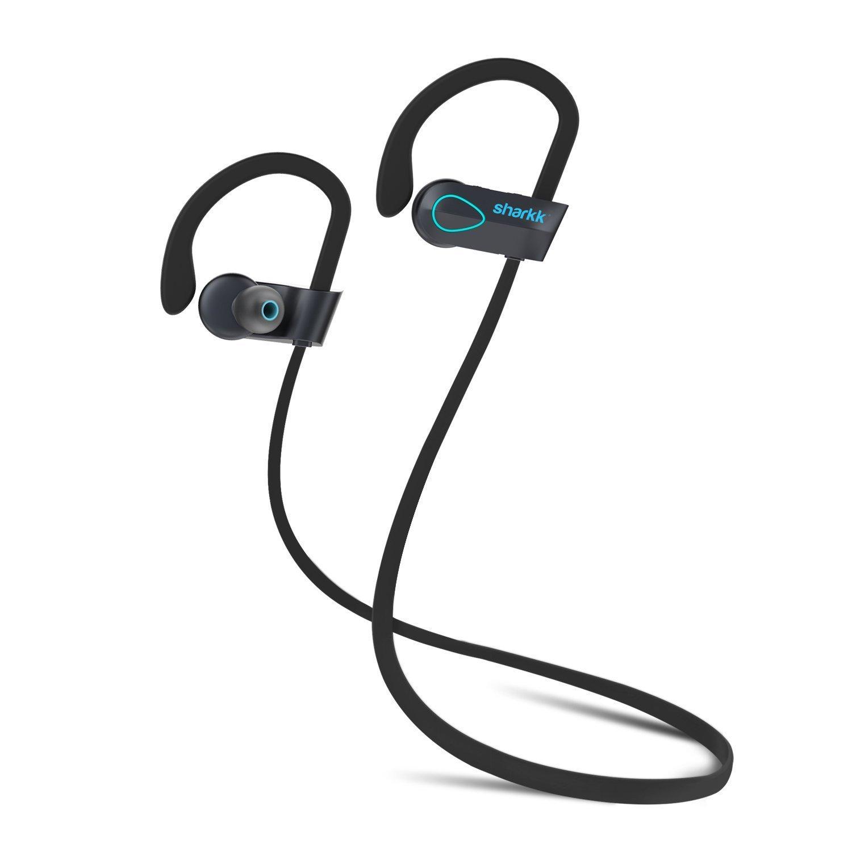 sharkk flex 2o bluetooth headphones wireless workout headphones ip67 sweatpro chickadee. Black Bedroom Furniture Sets. Home Design Ideas