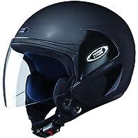 Studds Cub Half Helmet (Matt Black, M)