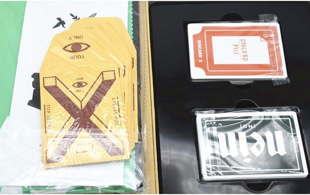Anyi Nuevo Juego de Mesa Secreto de Hitler, Juegos de Mesa Juegos de Cartas para Adultos Roles Ocultos Juego de Cartas Juego de Rompecabezas con Amigos y Familiares (¿Quién es Hitler?): Amazon.es: