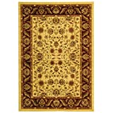 Safavieh Lyndhurst Collection LNH215A Traditional Oriental Ivory and Red Area Rug (3'3″ x 5'3″)