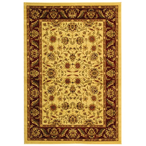 Safavieh Lyndhurst Collection LNH215A Traditional Oriental Ivory and Red Area Rug 4 x 6