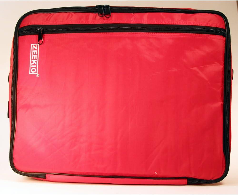 Double Graphics Red YoYo Carry Case Twisted Stringz Deluxe Yo-Yo Bag Holds 12 Yo-Yos- Triple Stitch Shoulder Strap