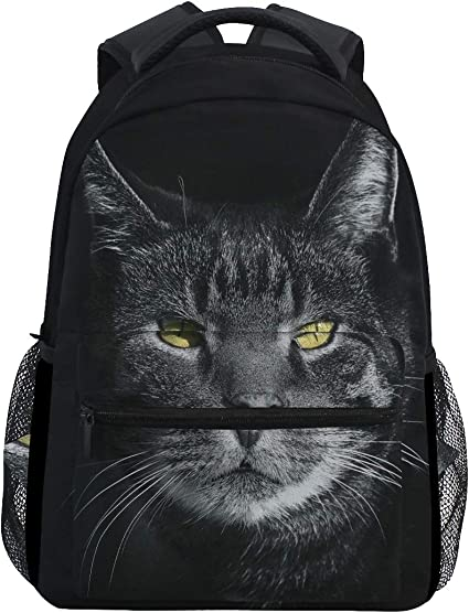 Katze Rucksack Damen Sport Schulrucksack Freizeit Reise Wandern Arbeit Backpack
